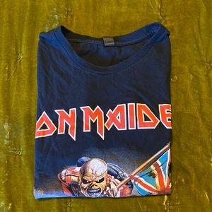 Iron Maiden band tee
